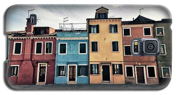 Burano Houses Galaxy S5 Case