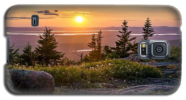 Cadillac Mountain Sunset  Galaxy S5 Case