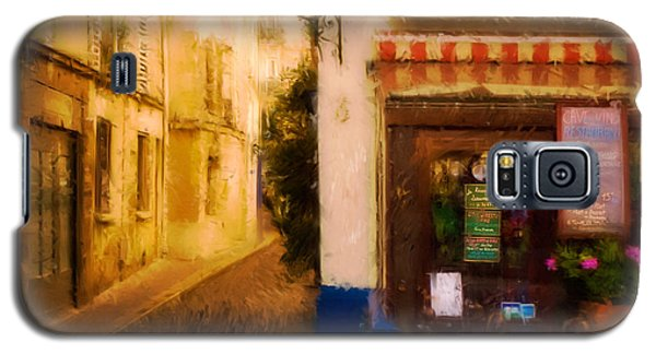 Cafe On The Rue Des Ursins Galaxy S5 Case