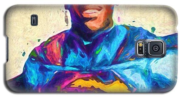 Superhero Galaxy S5 Case - @cameron1newton #camnewton by David Haskett II