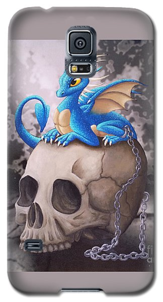 Captive Dragon On An Old Skull Galaxy S5 Case
