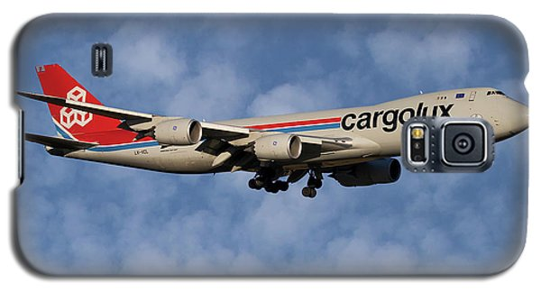 Jet Galaxy S5 Case - Cargolux Boeing 747-8r7 1 by Smart Aviation