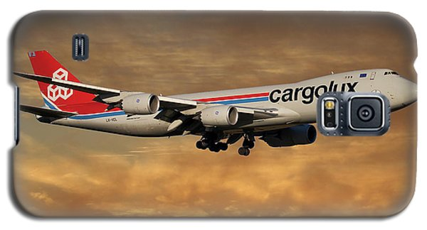 Jet Galaxy S5 Case - Cargolux Boeing 747-8r7 2 by Smart Aviation