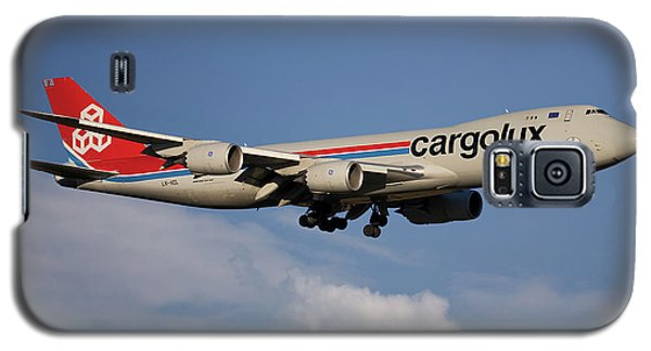 Jet Galaxy S5 Case - Cargolux Boeing 747-8r7 4 by Smart Aviation