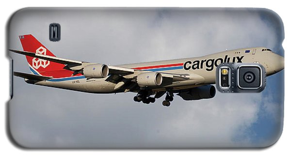 Jet Galaxy S5 Case - Cargolux Boeing 747-8r7 5 by Smart Aviation