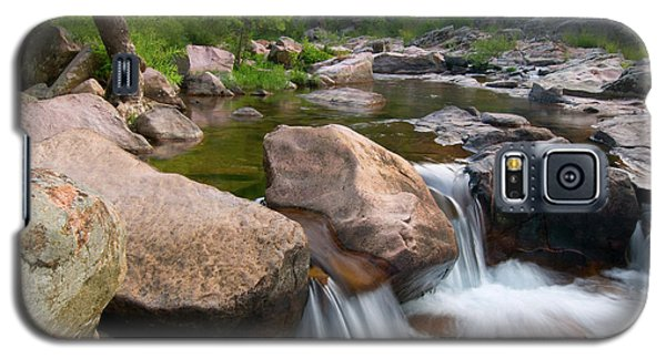Galaxy S5 Case featuring the photograph Castor River Shut-ins by Steve Stuller