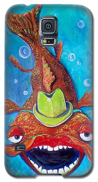Catfish Clyde Galaxy S5 Case by Vickie Scarlett-Fisher