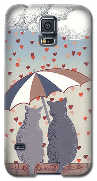 Cats In Love Galaxy S5 Case