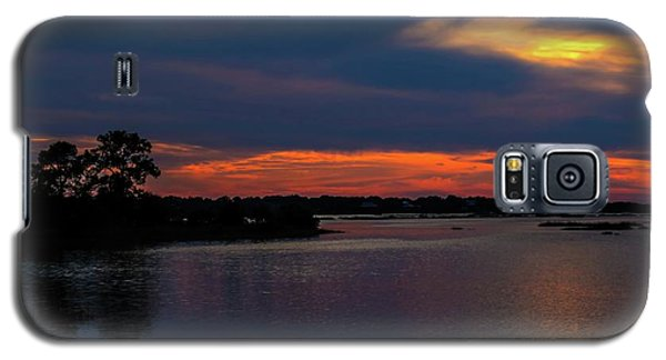 Galaxy S5 Case featuring the photograph Ceader Key Florida  by Louis Ferreira