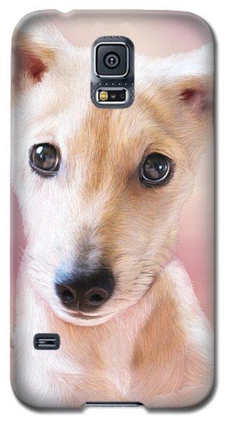 Galaxy S5 Case featuring the mixed media Ceecee by Carol Cavalaris
