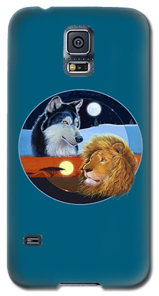 Celestial Kings Circular Galaxy S5 Case