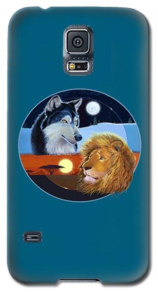 Celestial Kings Circular Galaxy S5 Case