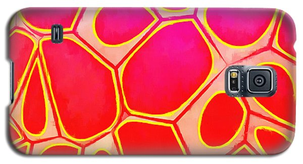 Detail Galaxy S5 Case - Cells Abstract Three by Edward Fielding