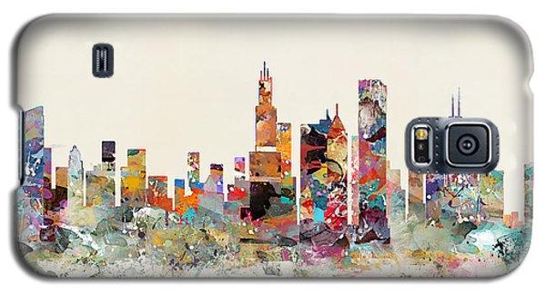 Chicago City Skyline Galaxy S5 Case by Bri B