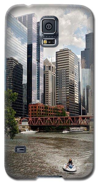Chicago River Jet Ski Galaxy S5 Case