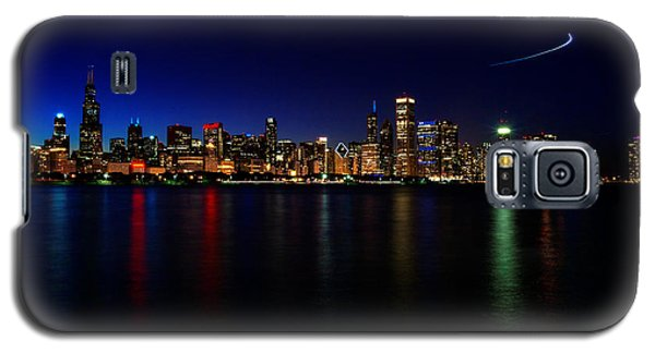 Chicago-skyline 3 Galaxy S5 Case