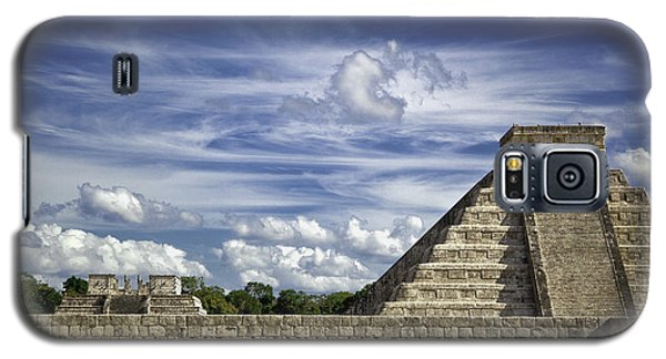 Chichen Itza, El Castillo Pyramid Galaxy S5 Case