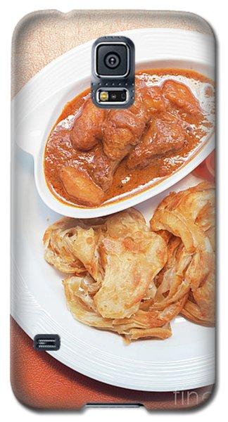 Galaxy S5 Case featuring the photograph Chicken Massaman Curry by Atiketta Sangasaeng