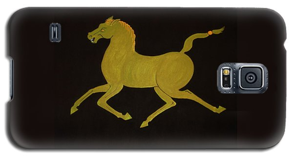 Chinese Horse #2 Galaxy S5 Case by Stephanie Moore