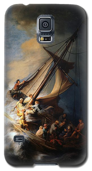 Christ In The Storm On The Lake Of Galilee Galaxy S5 Case
