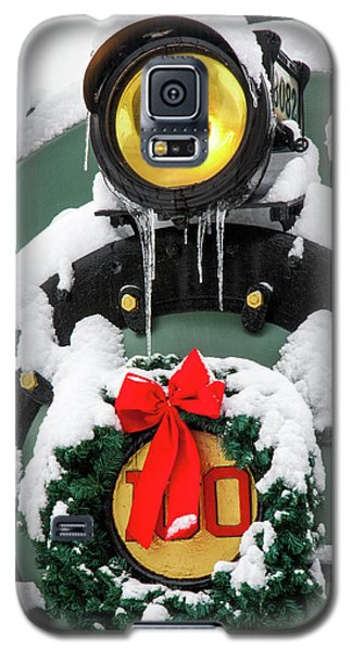 Christmas Train At Pacific Junction Galaxy S5 Case