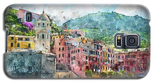 Cinque Terre Italy Galaxy S5 Case