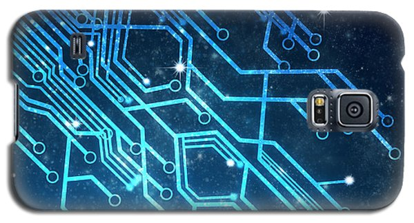 Circuit Board Technology Galaxy S5 Case