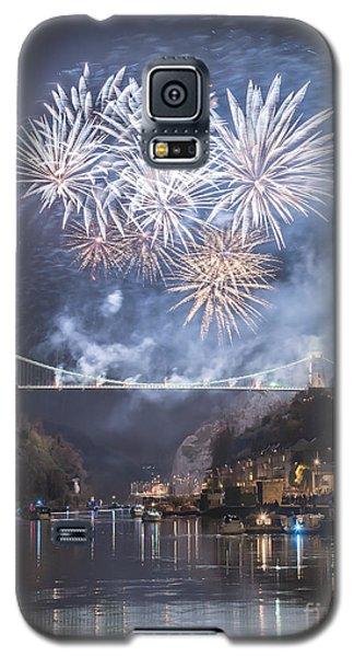 Clifton Suspension Bridge Fireworks Galaxy S5 Case