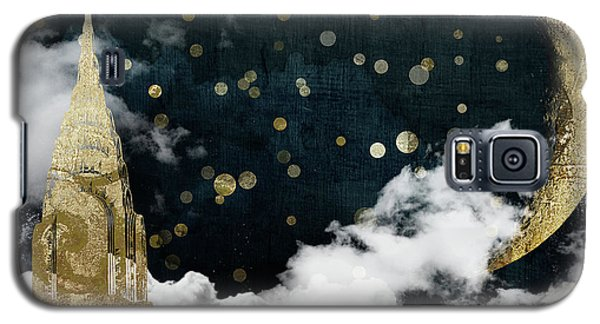 Cloud Cities New York Galaxy S5 Case