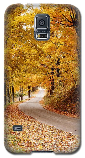 Cloudland Rd., Woodstock Vt Galaxy S5 Case by Butch Lombardi