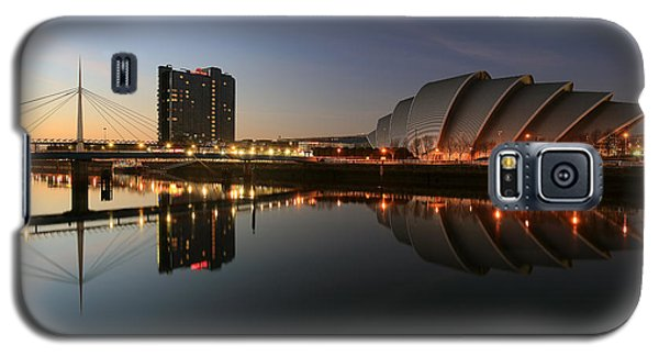 Clydeside Reflections  Galaxy S5 Case by Grant Glendinning