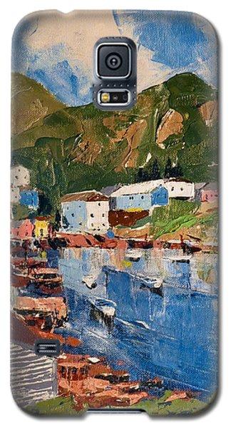 Coastal Village, Newfoundland Galaxy S5 Case