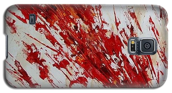Galaxy S5 Case featuring the painting Cochise by Pat Purdy