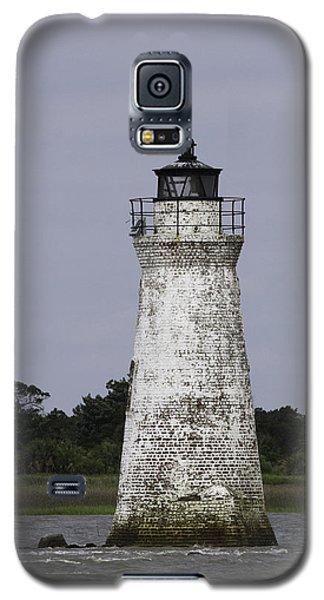 Cockspur Lighthouse Galaxy S5 Case by Elizabeth Eldridge