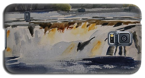 Cohoes Falls Study 2 Galaxy S5 Case