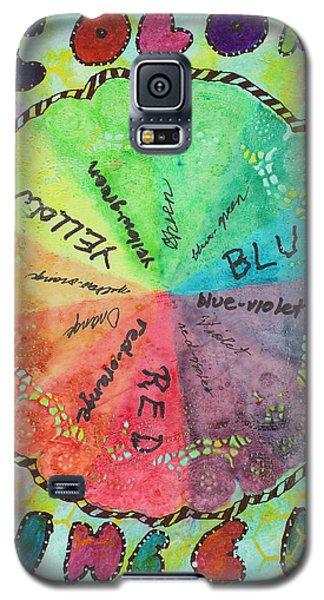 Color Wheel Galaxy S5 Case