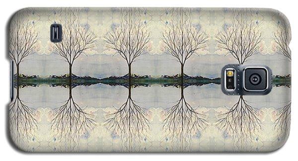 Colorado Cottonwood Tree Mirror Image  Galaxy S5 Case