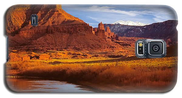 Colorado River At Fisher Towers Galaxy S5 Case