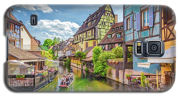Colorful Colmar Galaxy S5 Case by JR Photography
