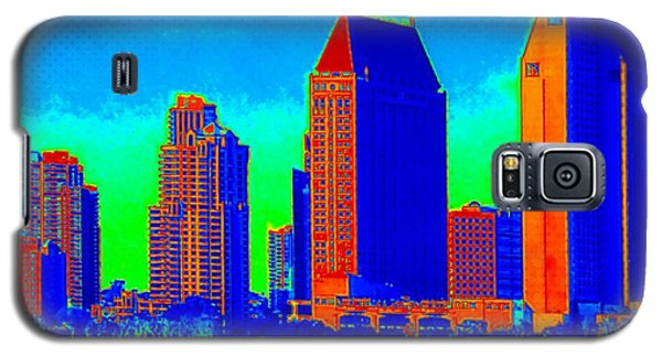 Comic Book City By The Bay Galaxy S5 Case