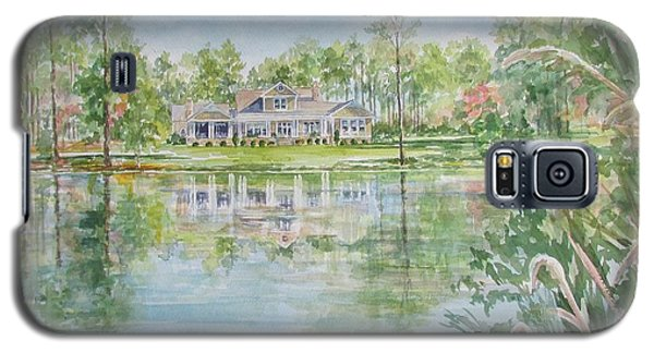 Commissioned Home Portrait Galaxy S5 Case