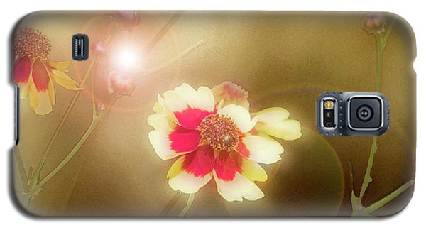 Coreopsis Flowers And Buds Galaxy S5 Case