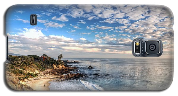 Corona Del Mar Shoreline Galaxy S5 Case by Eddie Yerkish