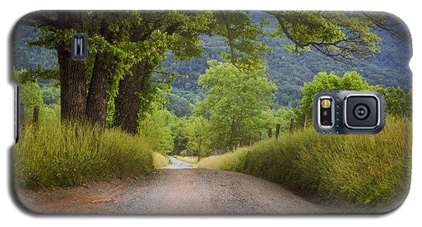 Country Lane In The Smokies Galaxy S5 Case by Andrew Soundarajan