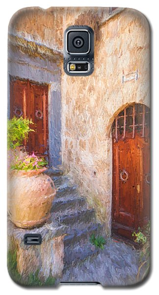Courtyard Of Tuscany Galaxy S5 Case
