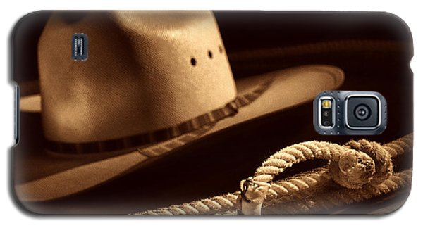 Cowboy Hat And Lasso Galaxy S5 Case