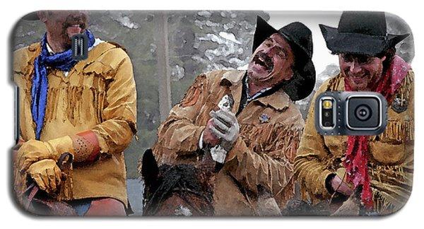 Cowboy Humor Galaxy S5 Case