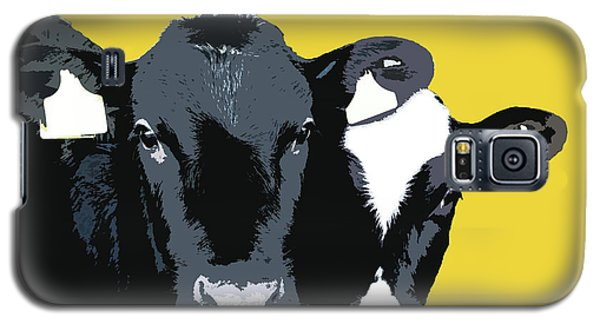 Cows - Yellow Galaxy S5 Case
