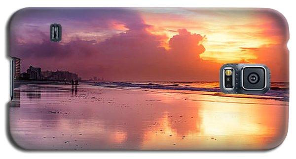 Crescent Beach September Morning Galaxy S5 Case