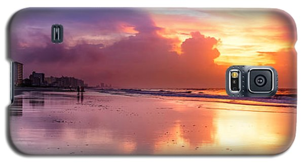 Crescent Beach September Morning Galaxy S5 Case
